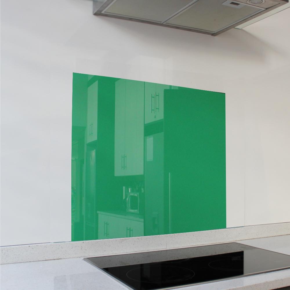 Green Hob Glass Splashback (598 x 650 x 6mm)