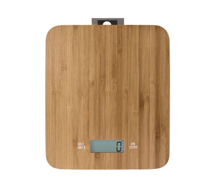 Casa Electronic Bamboo Kitchen Scale