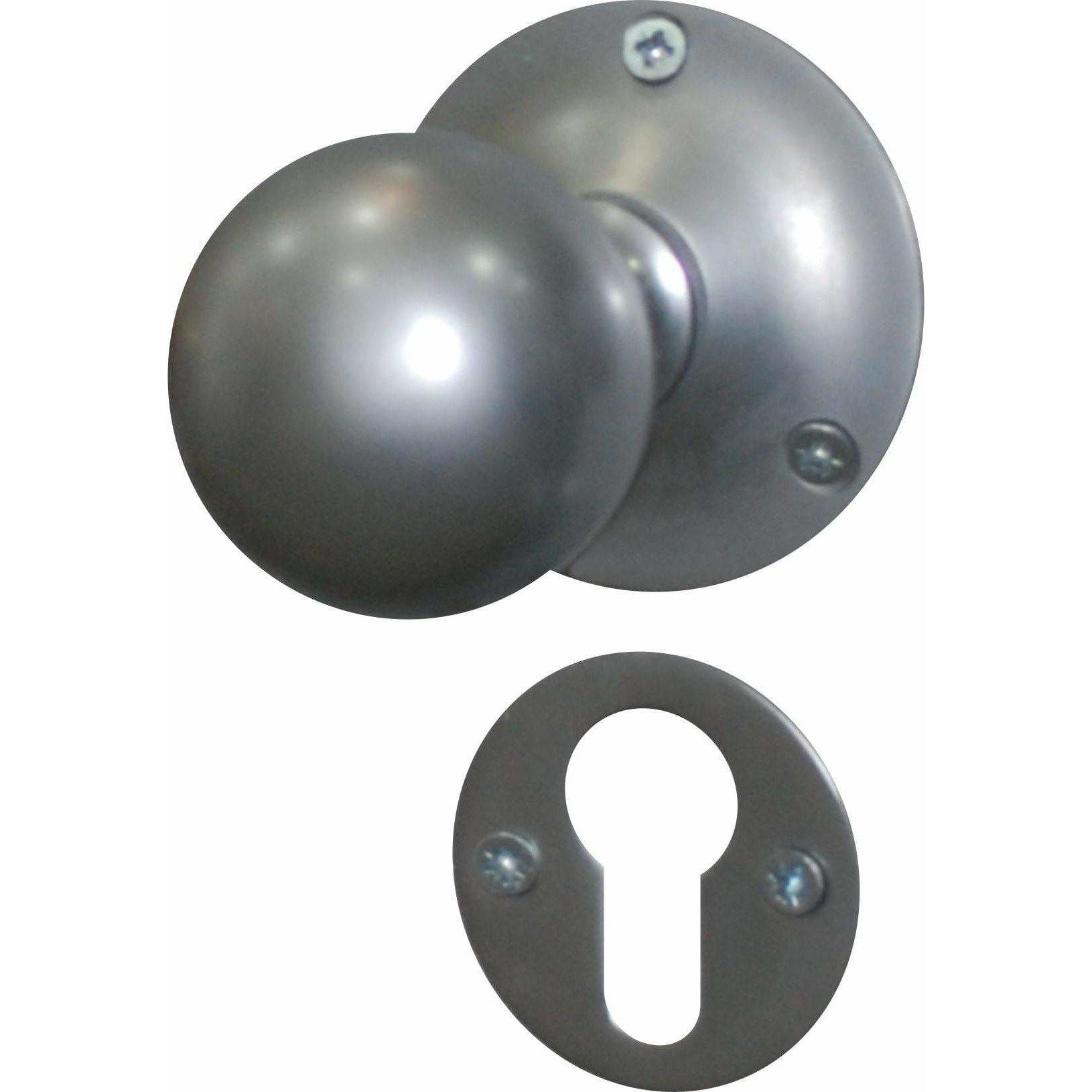 Ball type solid brass knob
