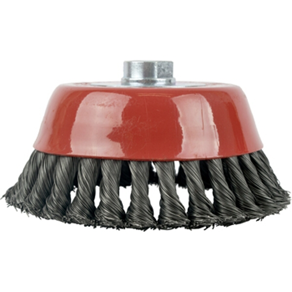 WIRE CUP BRUSH TWISTED 150MMXM14 BULK