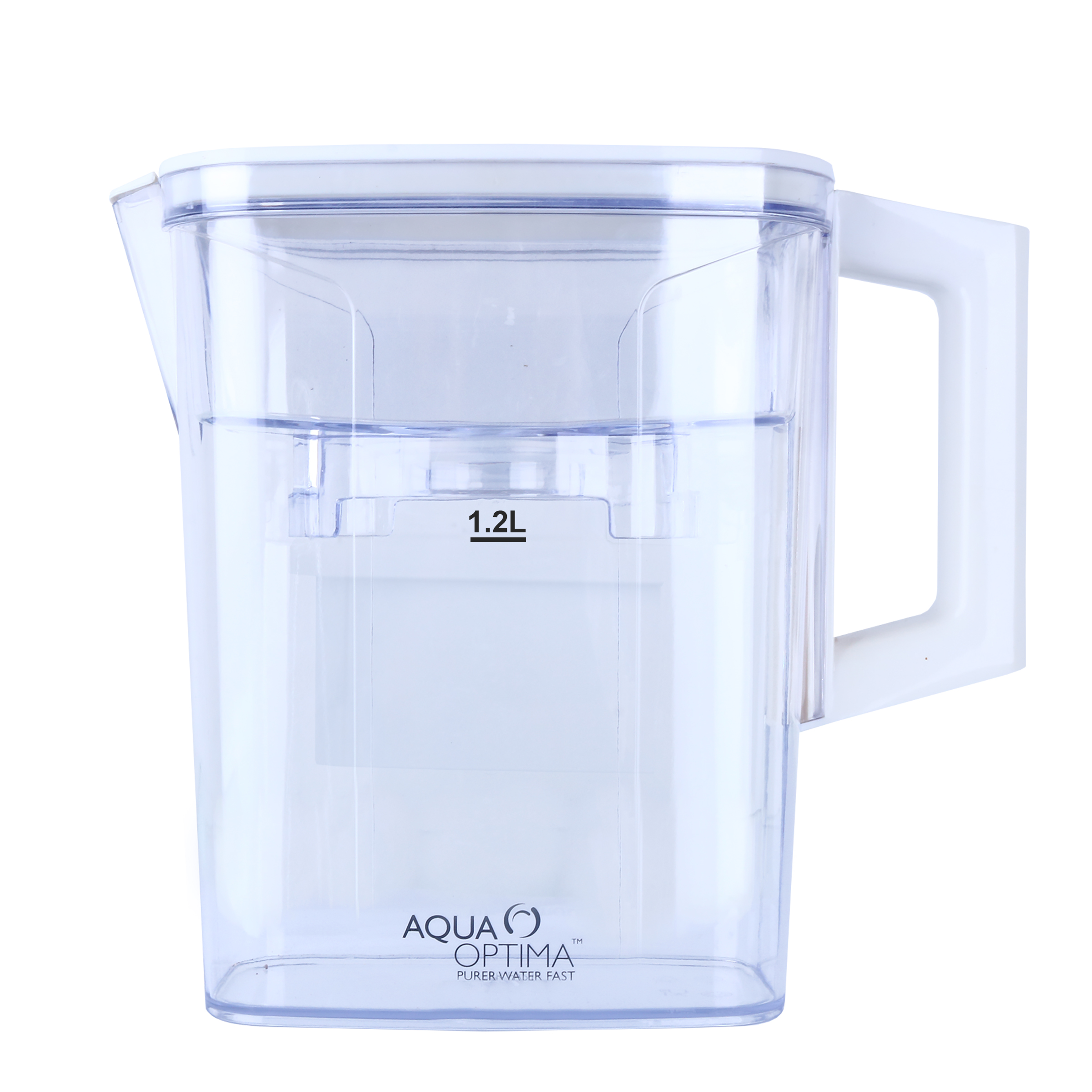 """Aqua Optima Water Jug With 30 Day Filter Plastic White 2. """"Compact"""""""