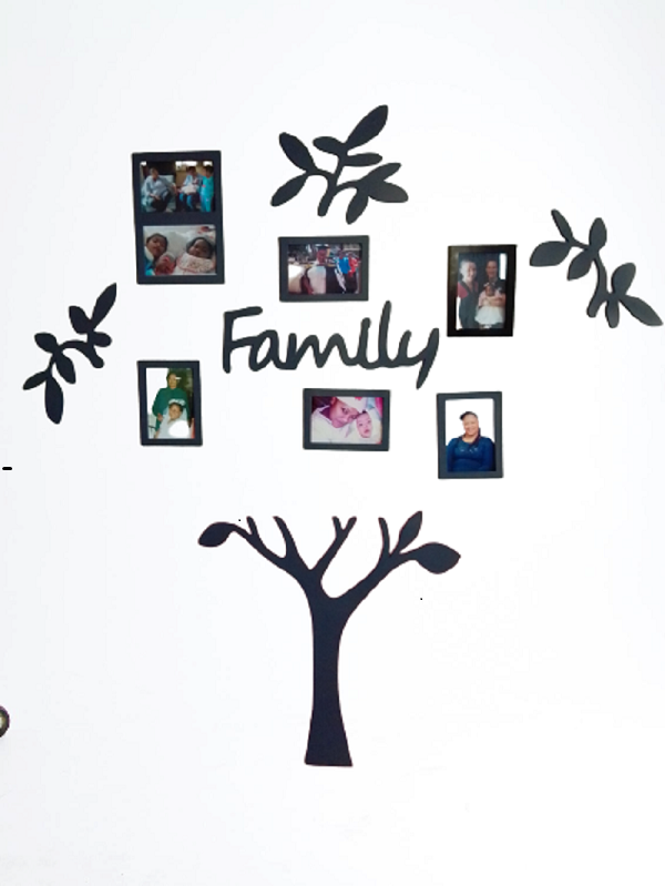 3D Family Tree Wall Art