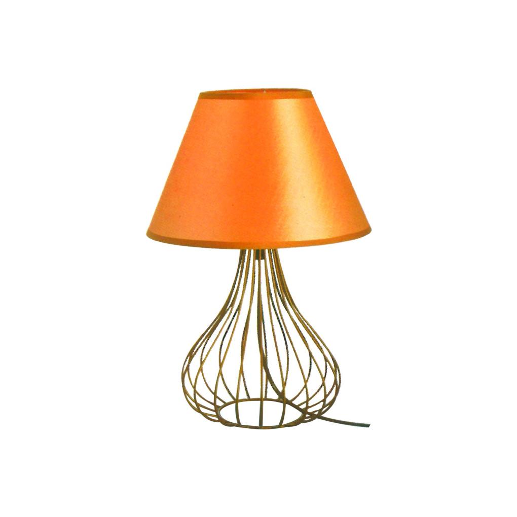 Scandinavian Table Light - Gold Bell Shape
