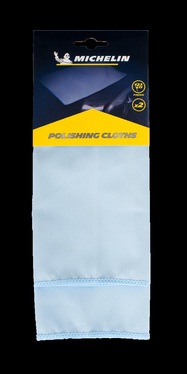 Michelin - Microfiber Automotive Polishing Cloth 2PC Set