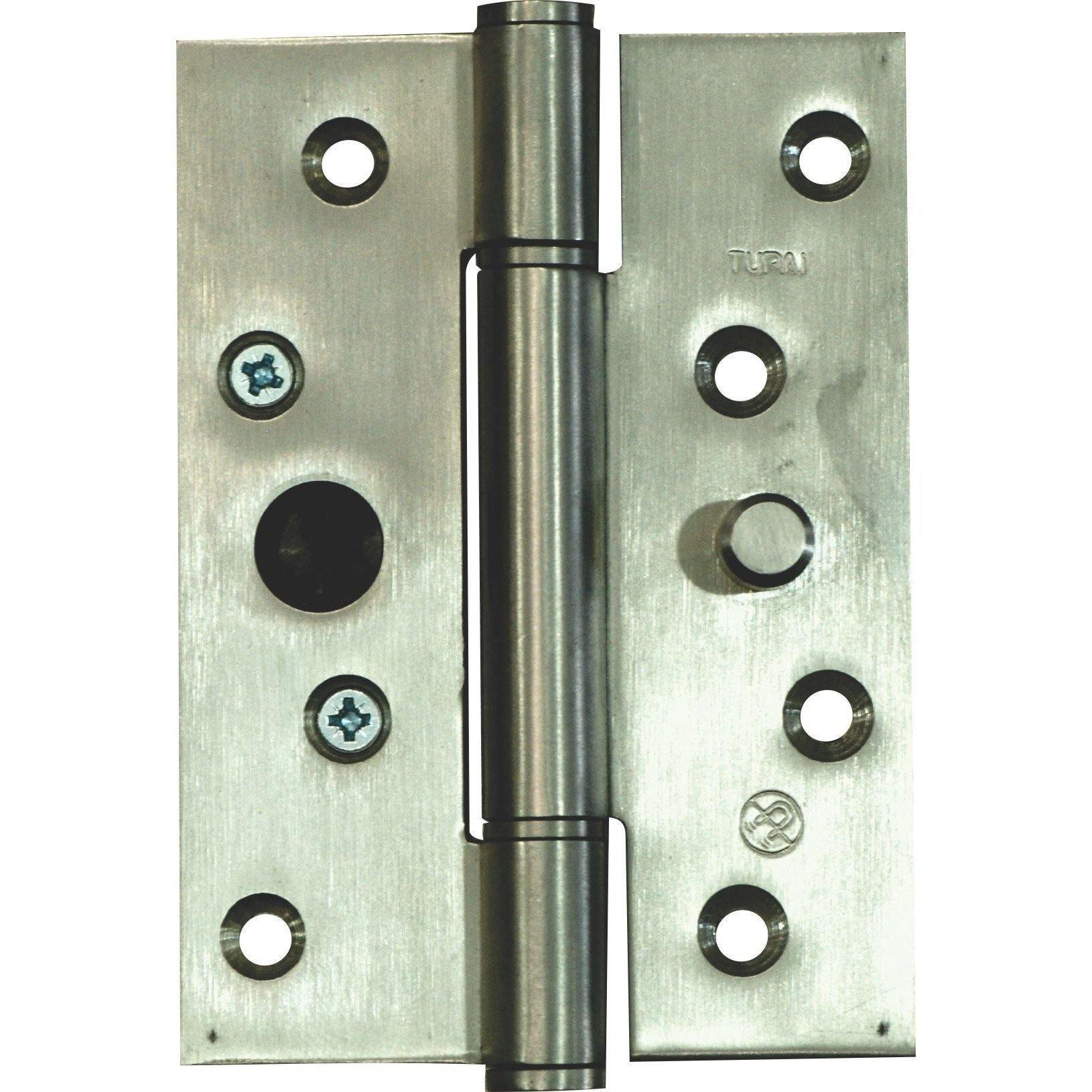 Heavy Duty Door Hinge - Stainless Steel - Anti-Lift