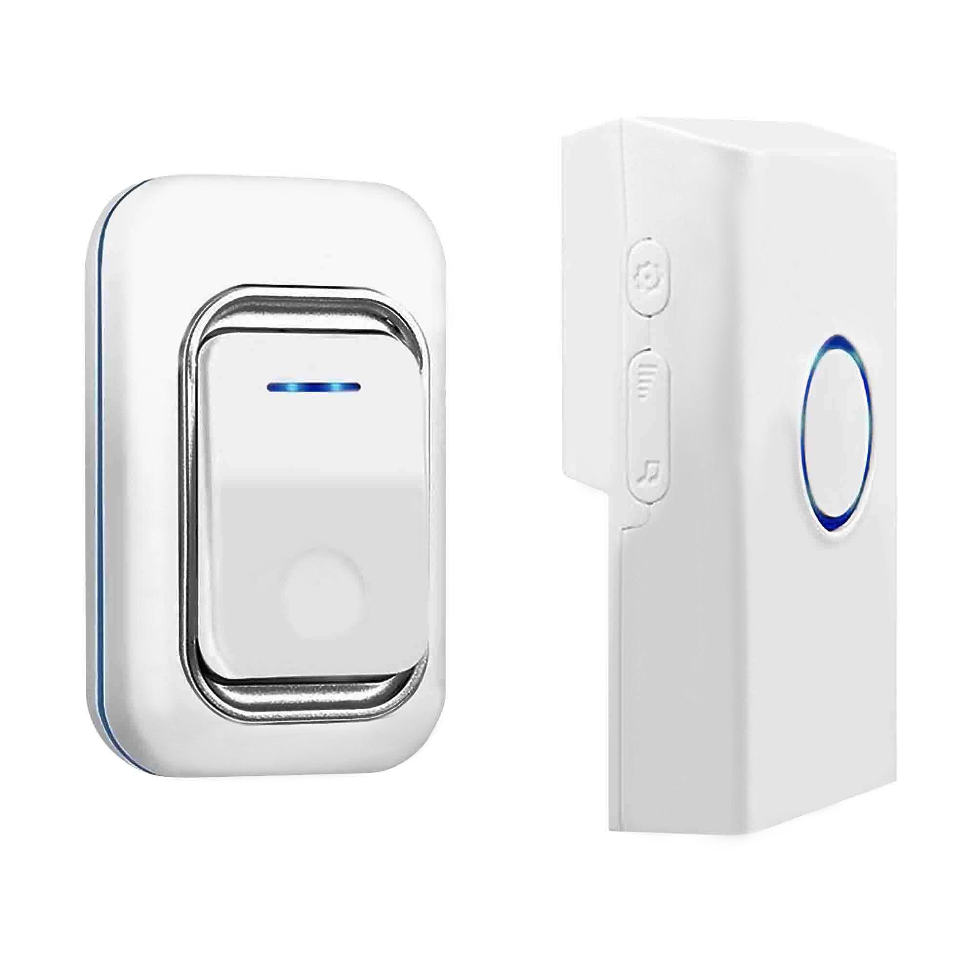 Long Range Wireless Chimes Door Bell Set