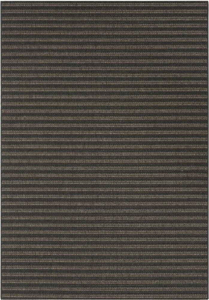 Rugs Original Patio Grace (160 x 230) Grey & Black Stripe