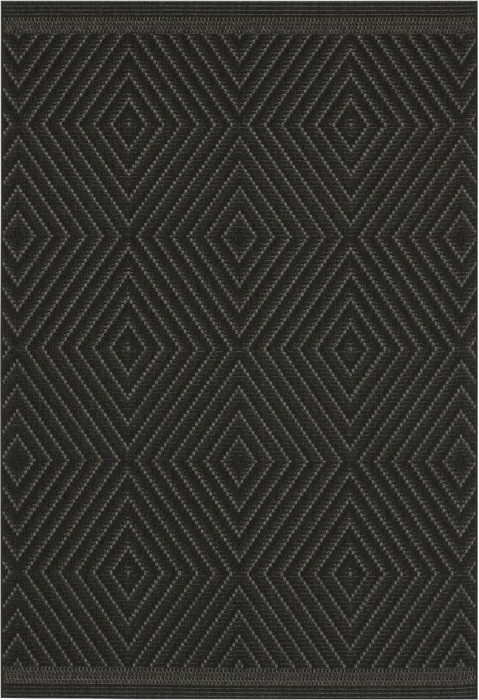 Rugs Original Patio Grace (120 x 170) Grey & Black Diamond