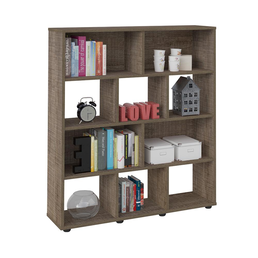 Click Furniture Book bookcase Cinnamon