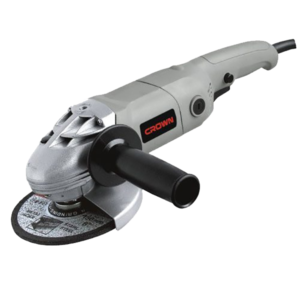 Crown 1200W Power Angle Grinder