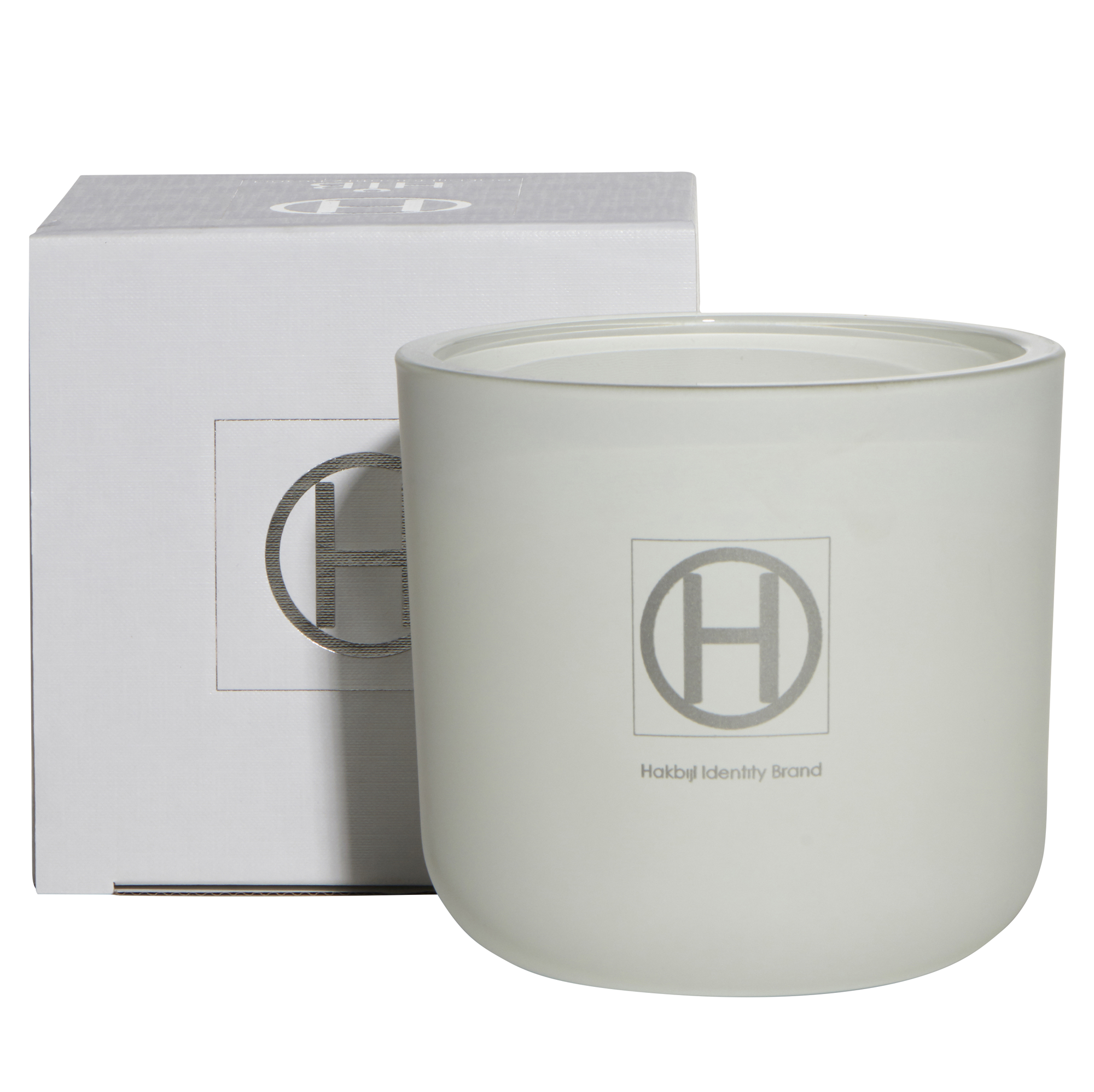 HiB Scented Candle - Matte White - Ghost - D14