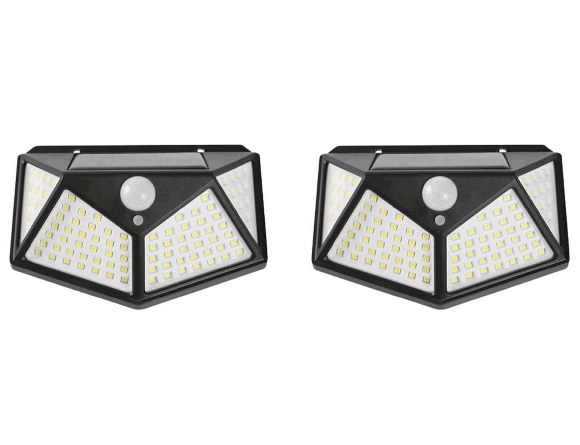 Solar Lights Waterproof Motion Sensor Light-Pack Of 2