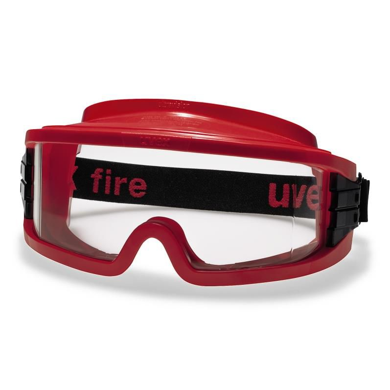 uvex ultravision wide-vision Safety goggle - Red