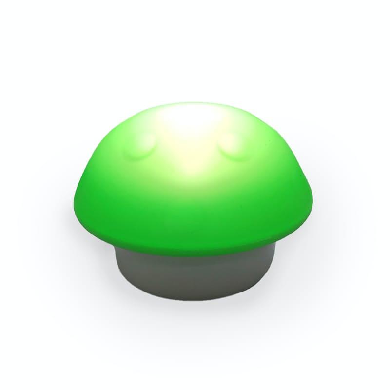 LED Mushroom Shaped Night Light - Green
