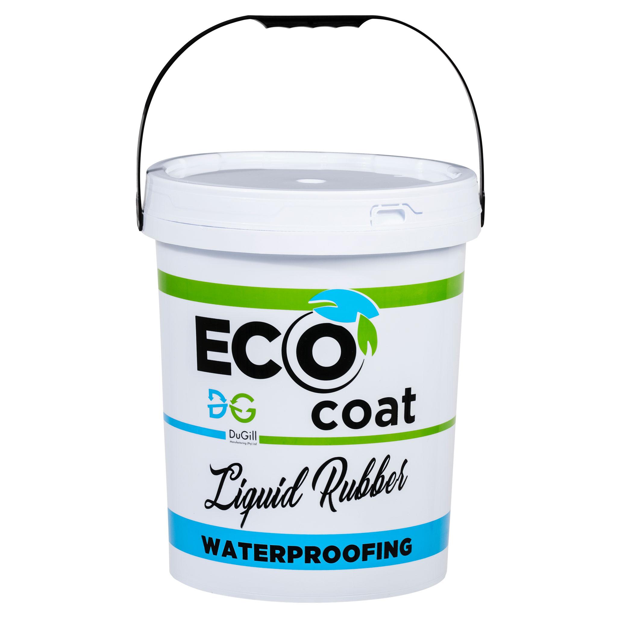 Light Grey EcoCoat Rubber Waterproofing