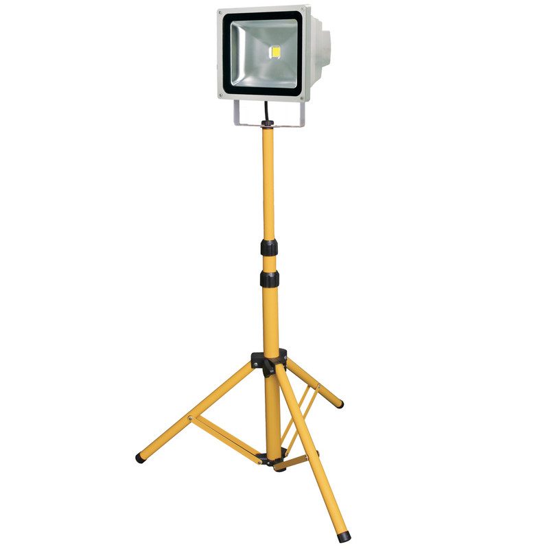 50W LED Floodlight with Stand
