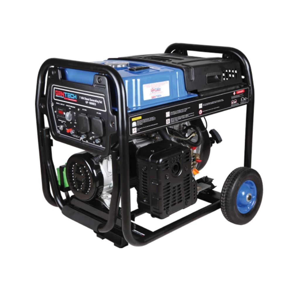 7KVA Key Start Diesel Generator