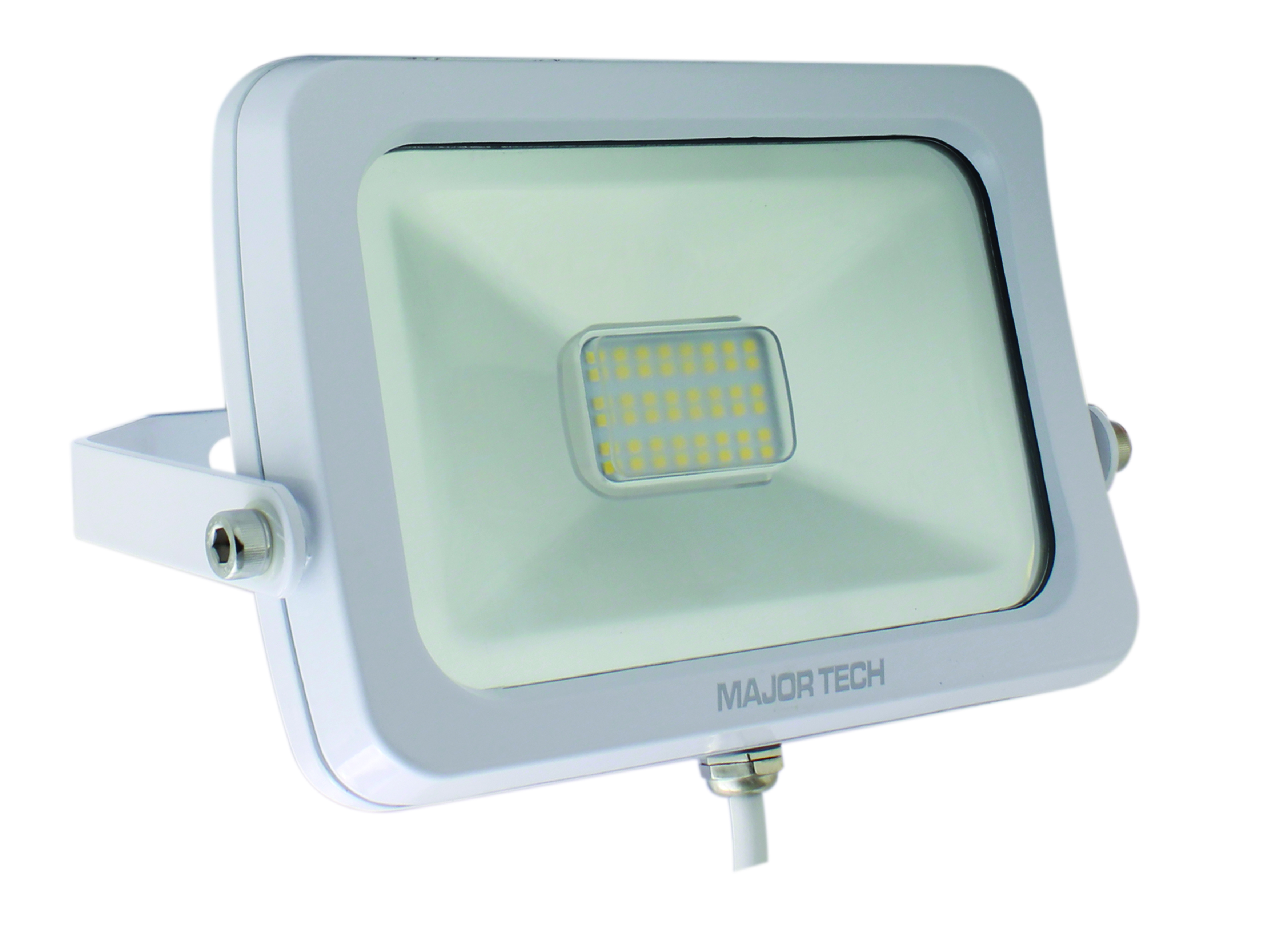Natural White 20W LED Outdoor Floodlight (LFW-20NWS) - Major Tech