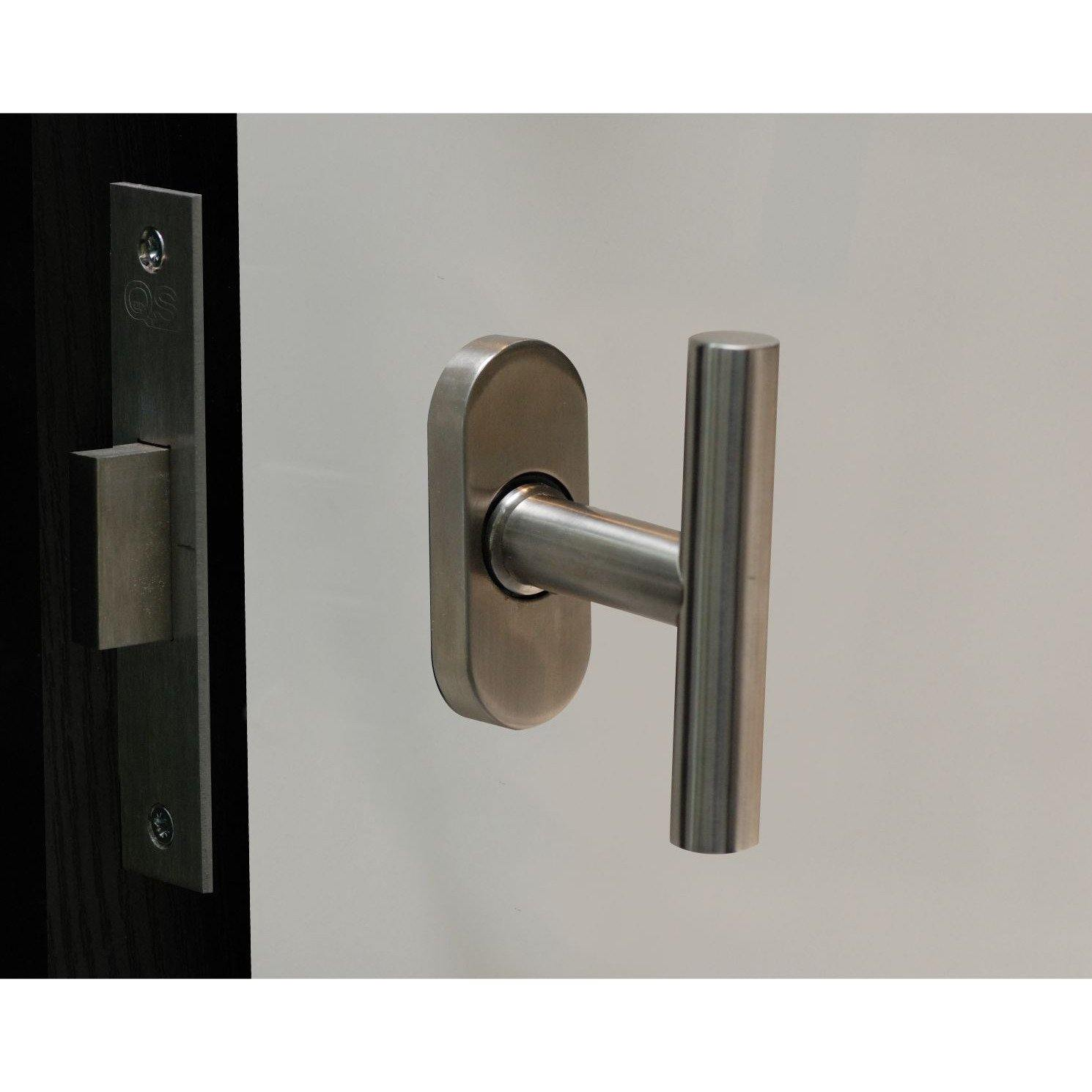 """Stainless steel """"T"""" shaped window handle"""