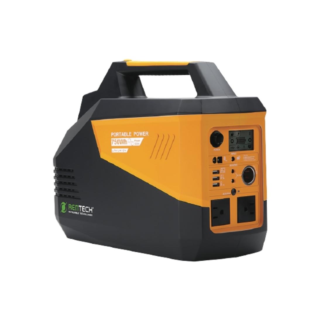 Rentech PPS750 Portable Power Supply UPS Inverter