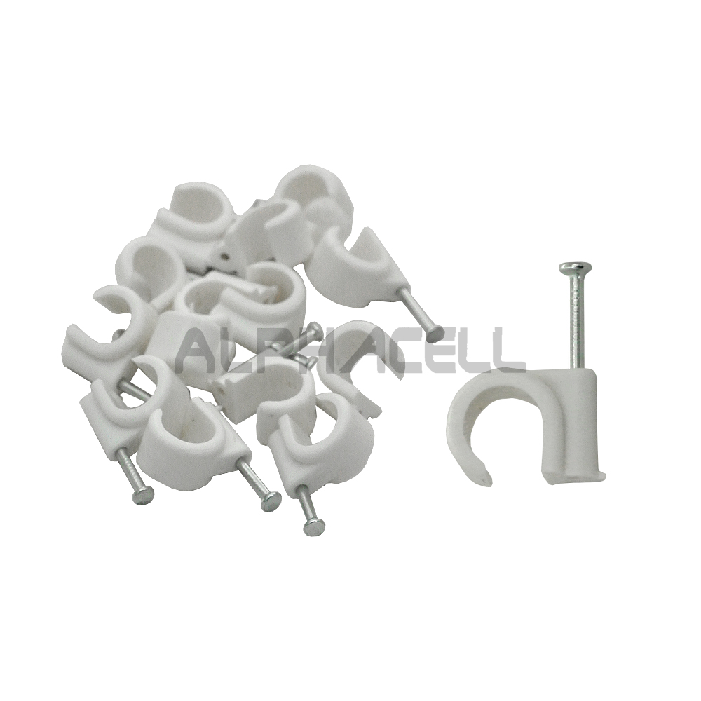 Cable Clip - 7ROUND (qty25)
