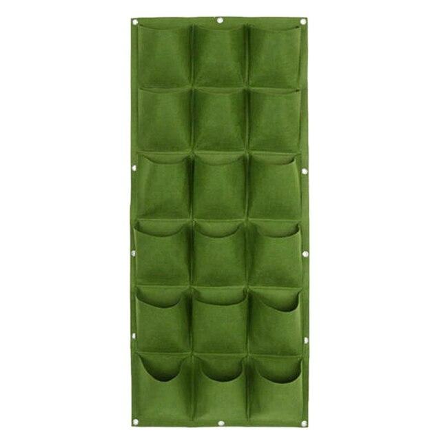 Fine Living 18 Pockets Wall Planter - Green