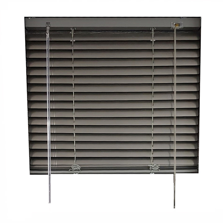 25mm Aluminium Venetian Blind 470mm W x 900mm H - Onyx