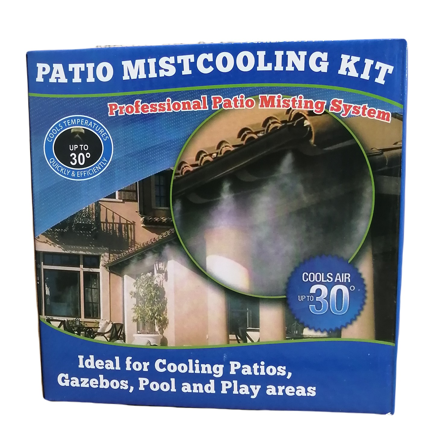 Patio Cooling Misting Kit