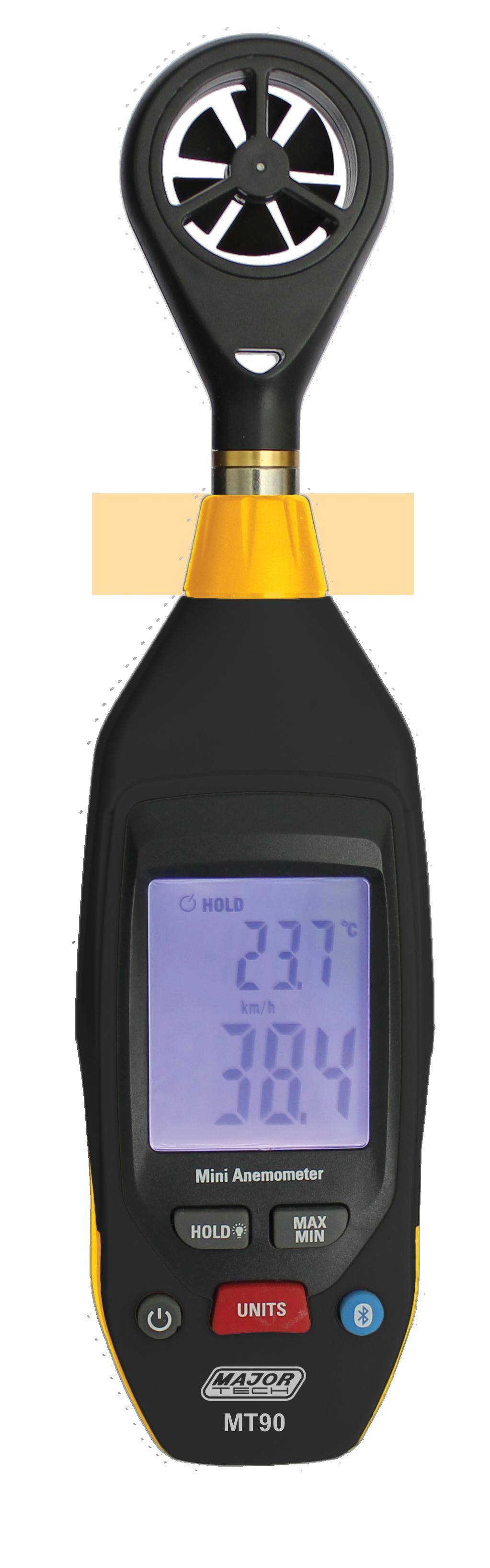 Mini Thermo - Anemometer (MT90) - Major Tech