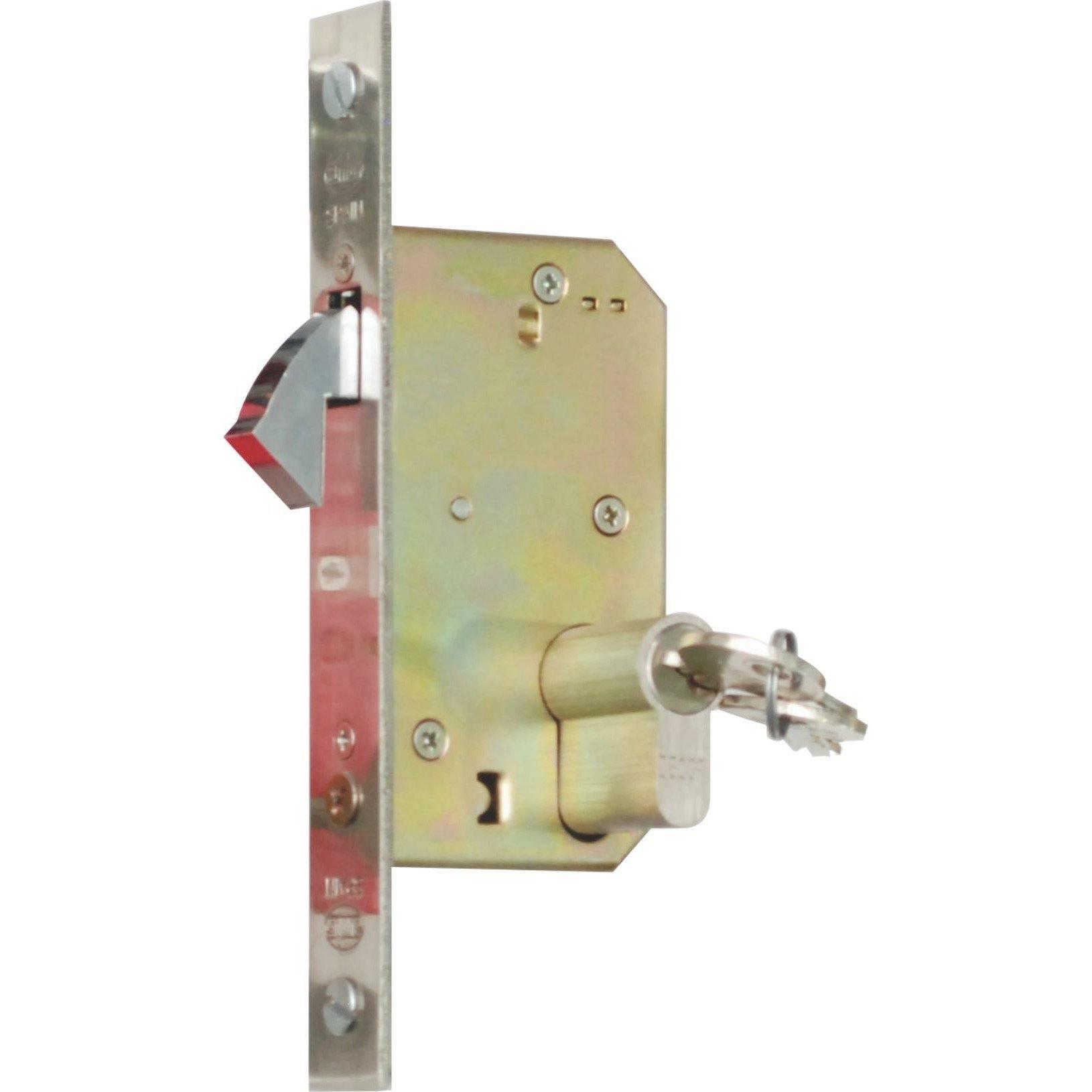 Hook lock for wooden sliding doors (Lock Body Only)