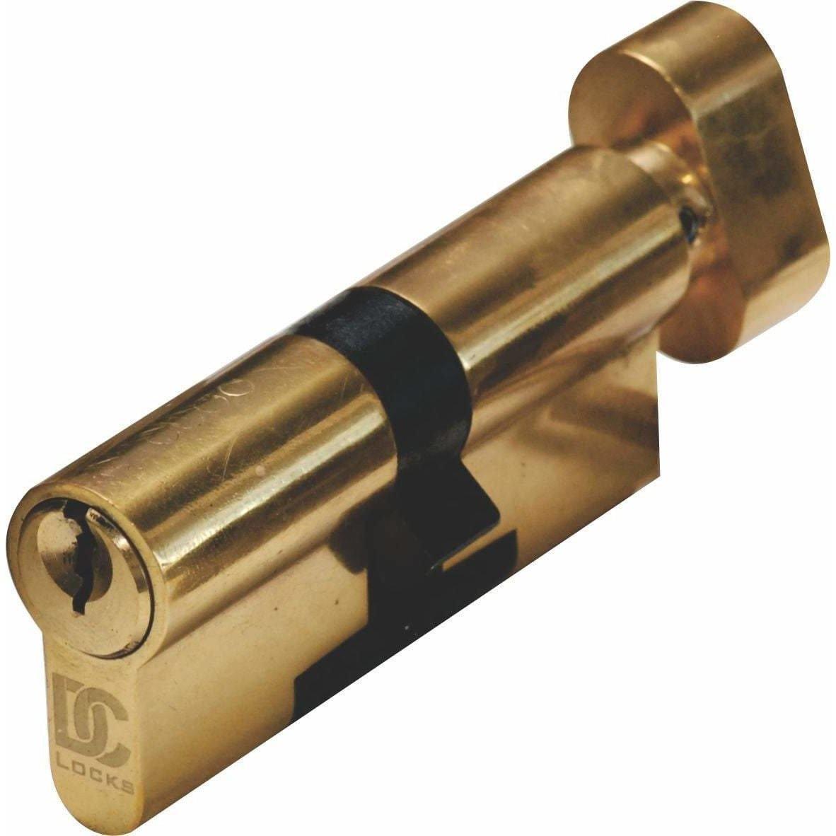 Door Lock Cylinder - 65mm - Thumb-turn