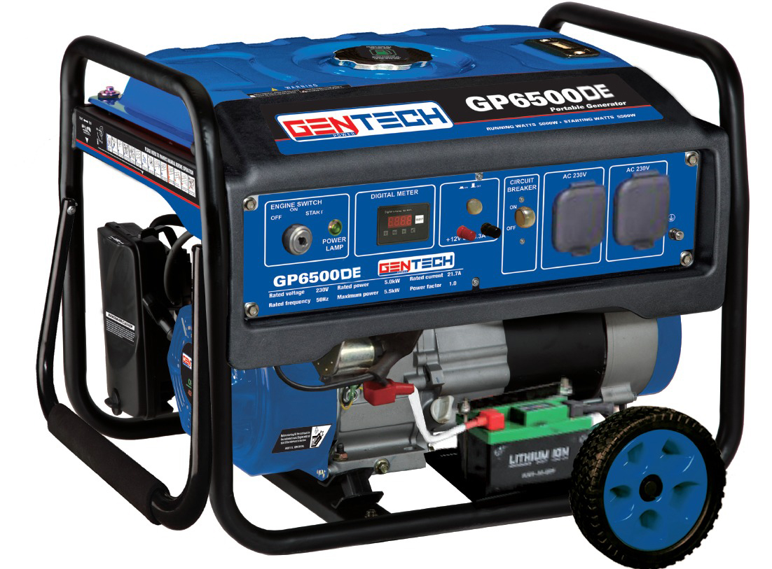 5.5KVA Key Start Gasoline Generator