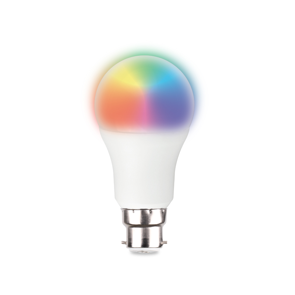 Smarthome LED 9 Watt A60 B22 Quantity 2