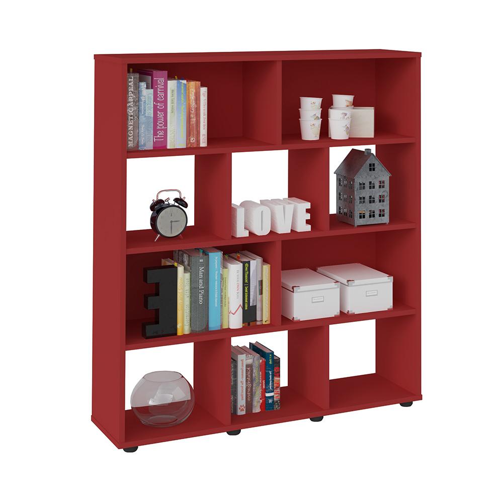 Book Bookcase Red