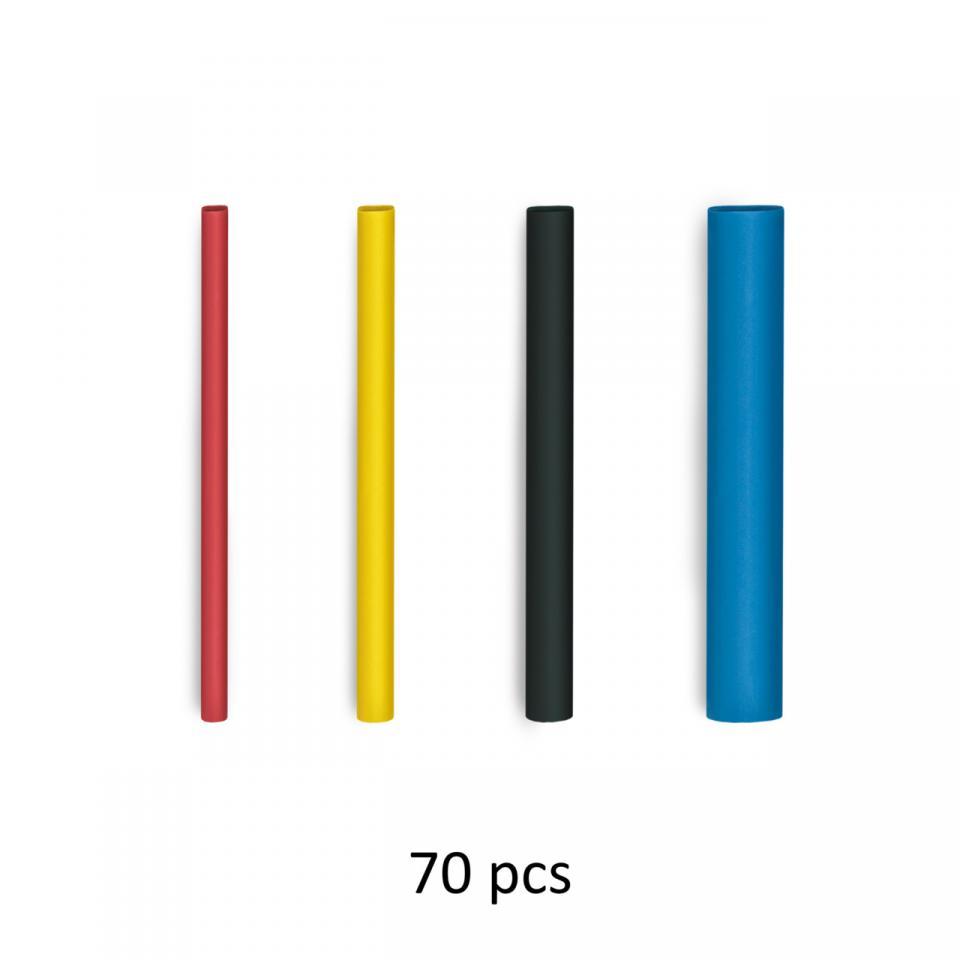 Steinel Shrink tubing I - Ø 1,6 – 4,8 mm - Heat Shrink 70 Pieces - German quality