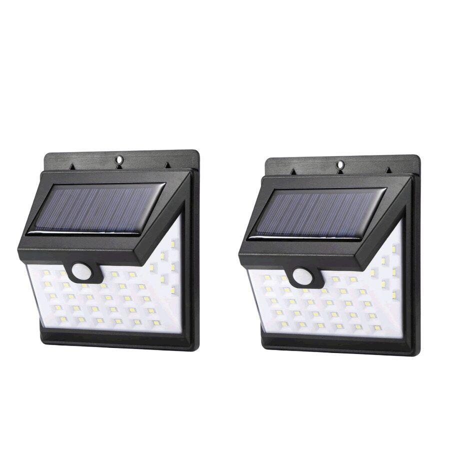 2Pcs 40 LED Solar Motion Sensor Light