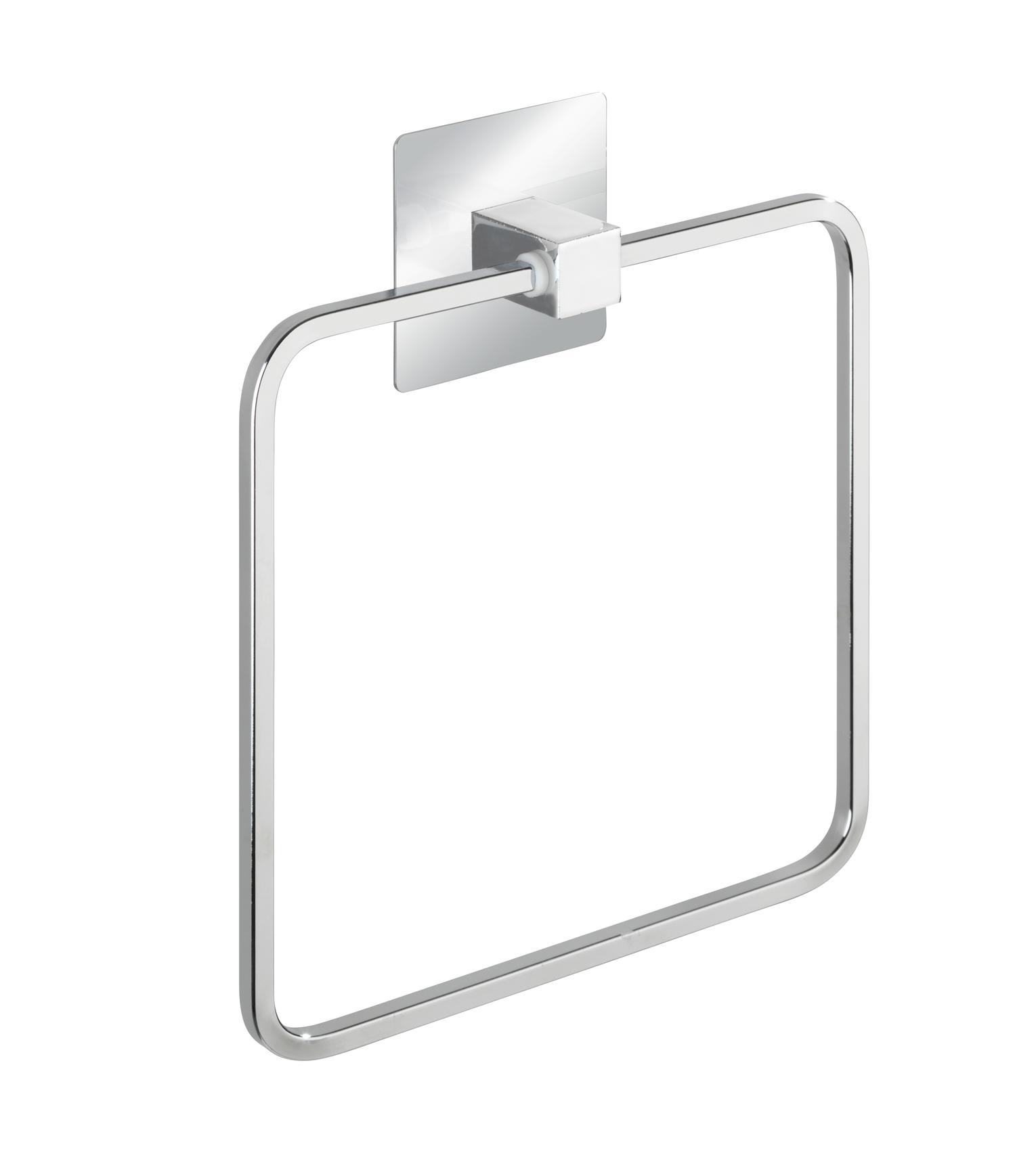 Wenko - Turbo-Loc® Towel Ring Quadro Range - S/Steel