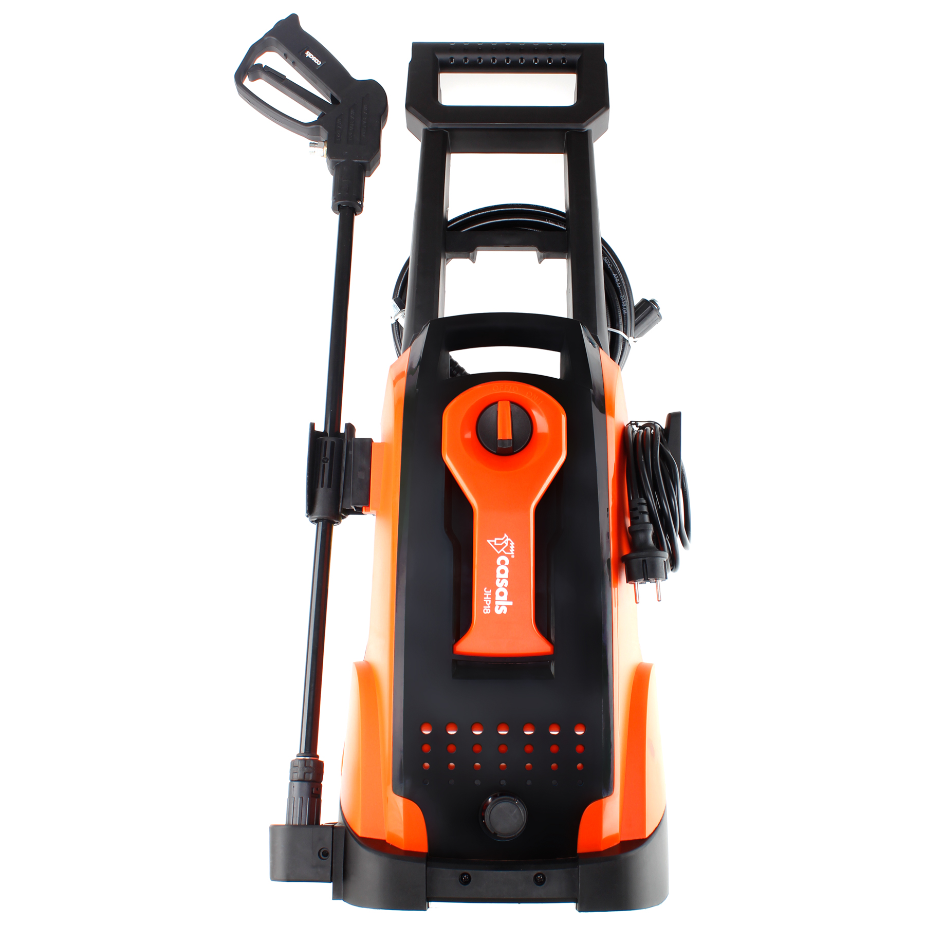 High Pressure Washer With Attachments 135Bar