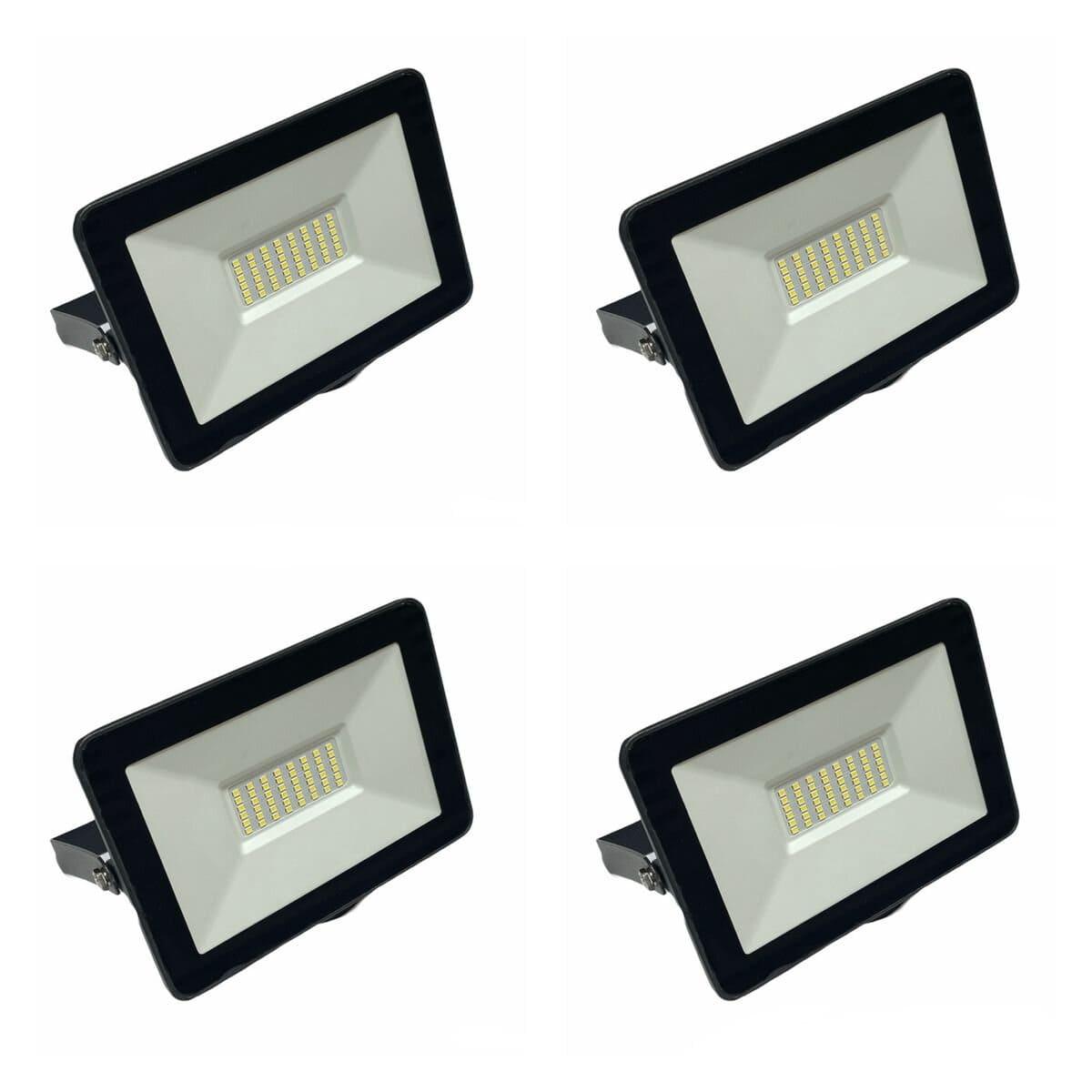 100w LED Floodlight - Set of 4