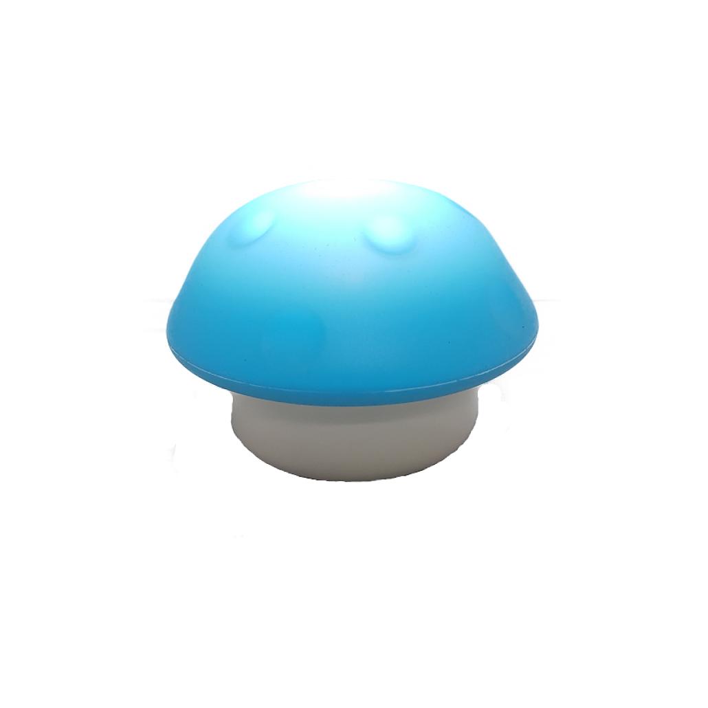 LED Mushroom Shaped Night Light - Blue