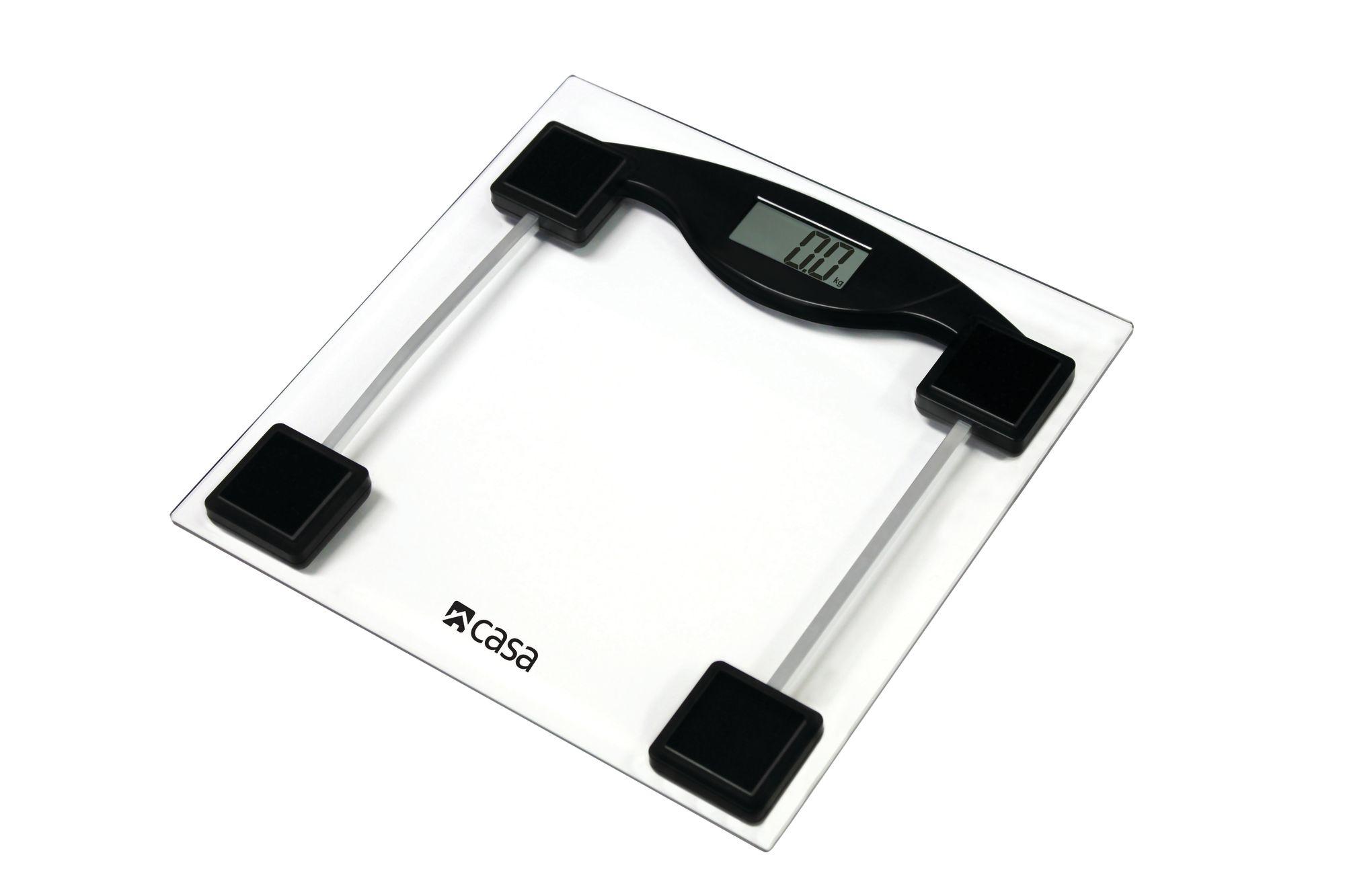 Casa Diagnostic Glass Bathroom Scale  -  CEGS01