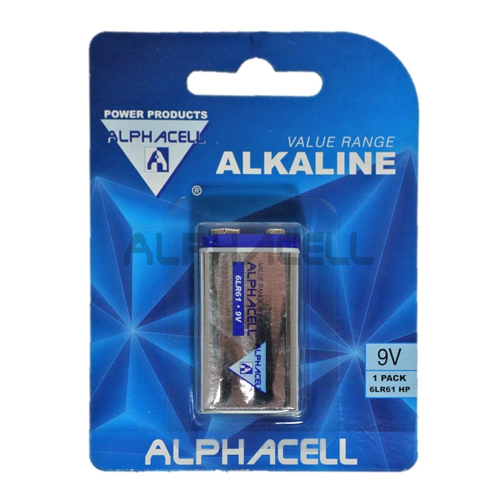 Alkaline Value 9V 1pc- CARDED