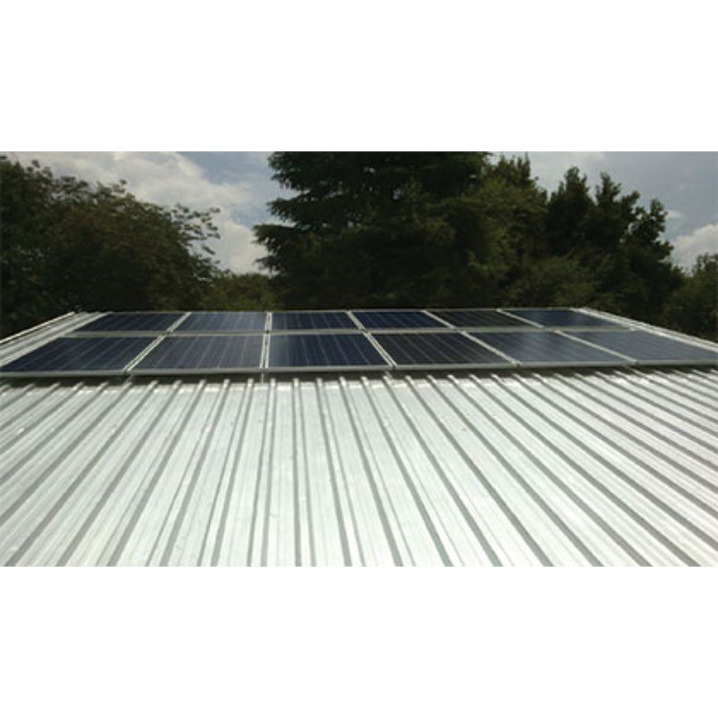 3 PV Panel IBR Roof Mounting Kit up to 72 Cell
