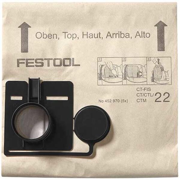 FESTOOL FILTER BAG FIS-CT 22/5 452970