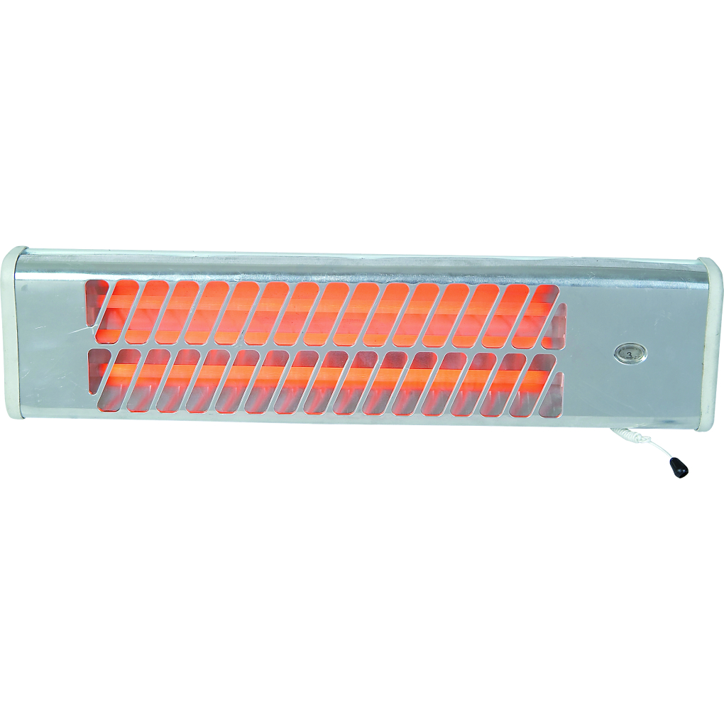 3 Bar Wall Mounted Quarts Heater
