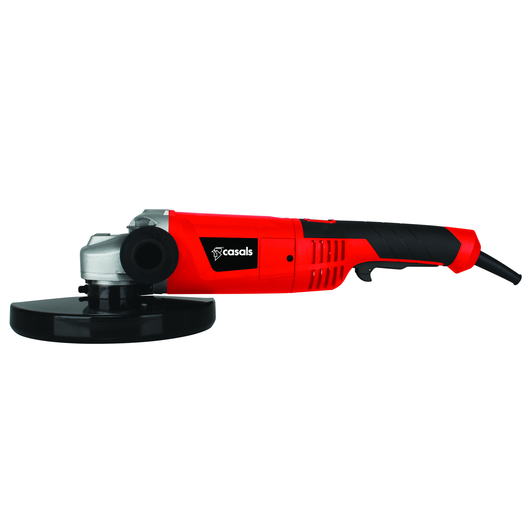 Casals Angle Grinder With Auxiliary Handle Plastic Red 230mm
