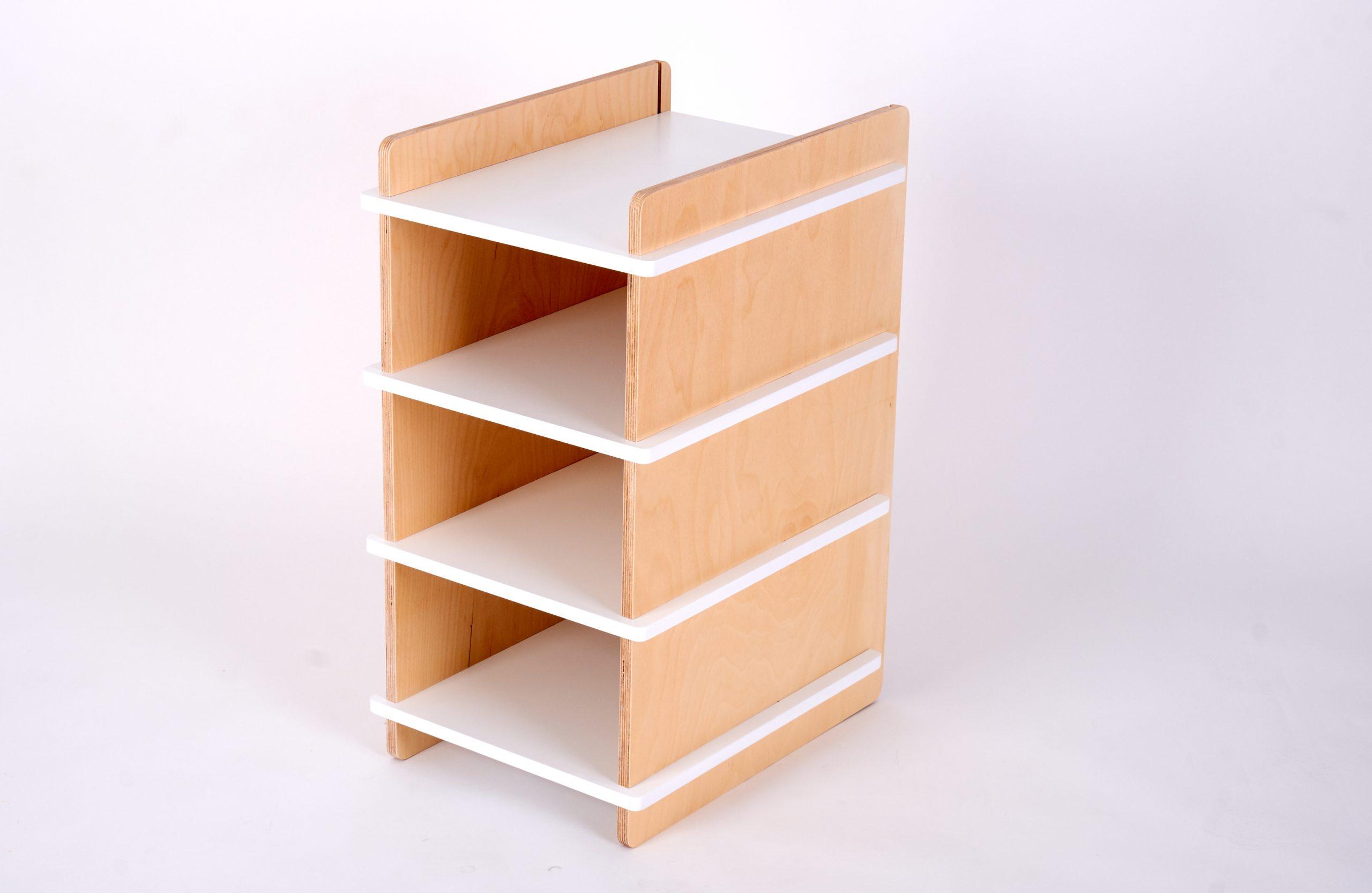 Organising Shelf White