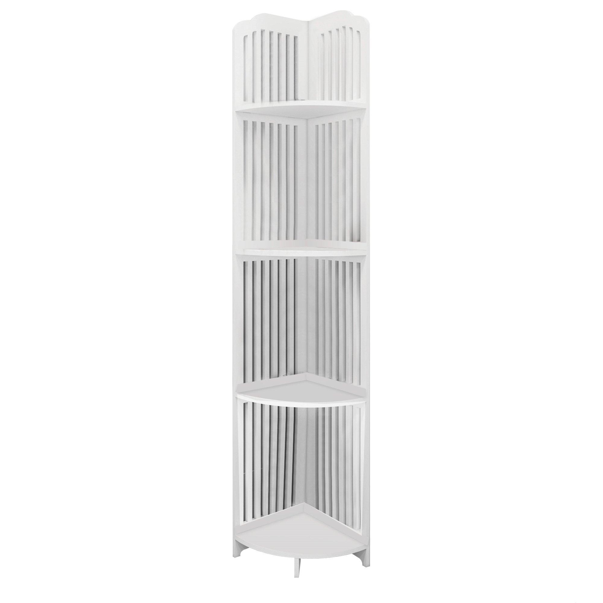 4 Tier Corner Shelf Stand