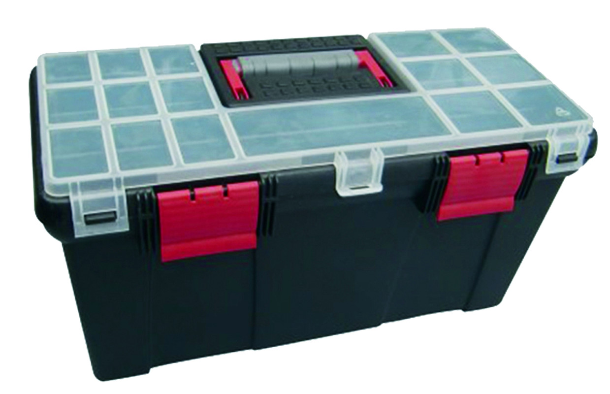 Plastic Tool Case - size 500 x 240 x 260mm