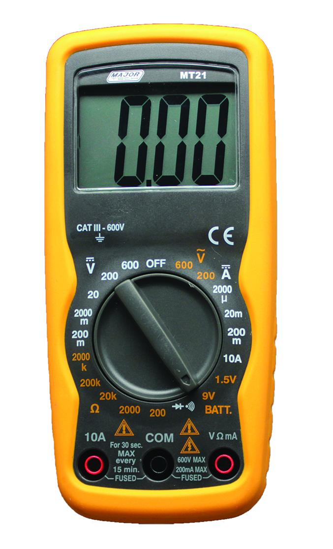 Compact Multimeter (MT21)- Major Tech